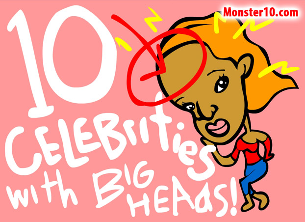 10 Celebrities With Big Heads!