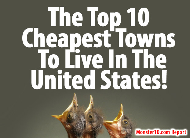 What state is the cheapest to live in the top 10 cheapest for Top us cities to live in 2017