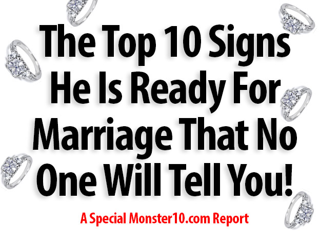 signs he is married