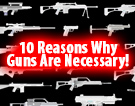 10 Reasons Why Guns Are Necessary!