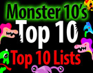 Monster 10's Top 10 Top Ten Lists!